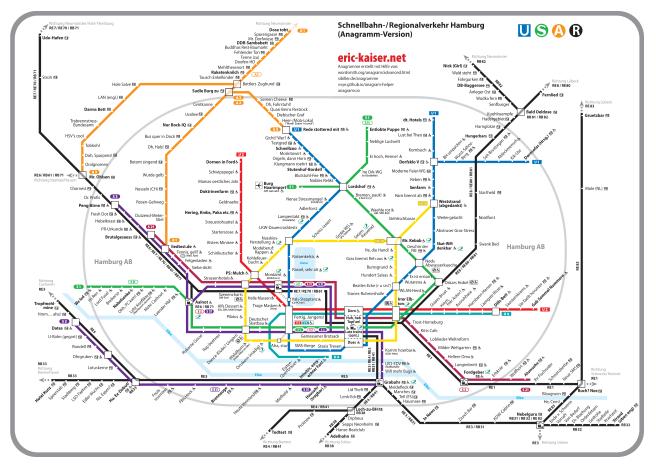 Hamburg Anagram Map - eric-kaiser.net on